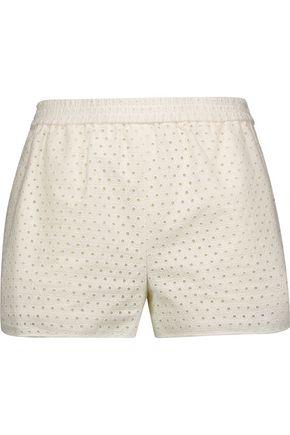 DIANE VON FURSTENBERG Belize broderie anglaise cotton shorts