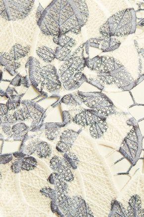TORY BURCH Ian guipure lace top
