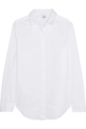 IRIS AND INK Thea cotton-poplin shirt