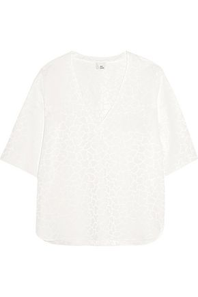 IRIS & INK Jacquard top