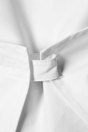 J.W.ANDERSON Asymmetric paneled cotton-poplin top