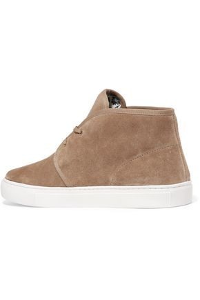 TORY BURCH Iggy suede sneakers