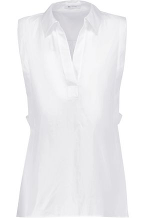 T by ALEXANDER WANG Cotton-poplin shirt