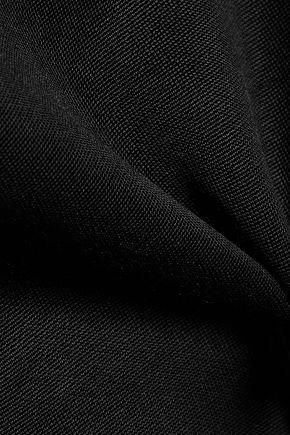 HALSTON HERITAGE Cutout stretch-jersey top