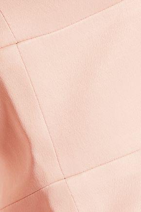 L'AGENCE Ninette cropped crepe top