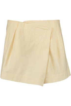 MARC BY MARC JACOBS Wrap-effect cotton-blend shorts