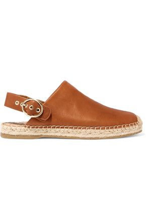 SAM EDELMAN Jazzy leather espadrilles