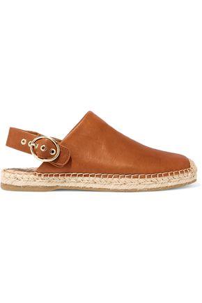 SAM EDELMAN Jazzy leather espadrilles