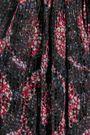 ISABEL MARANT Tryna printed  devoré-chiffon top