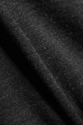 ISABEL MARANT Clap split-back merino wool top