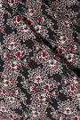 10 CROSBY DEREK LAM Pleated printed silk top