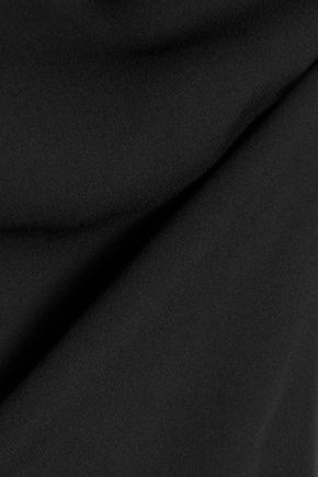 HALSTON HERITAGE Sheer silk blouse