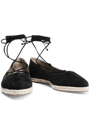 MICHAEL KORS COLLECTION Cadence suede espadrilles