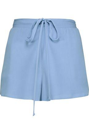MICHELLE MASON Silk crepe de chine shorts