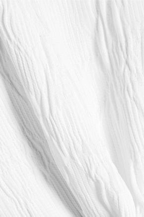 ROSETTA GETTY Cutout mousseline top