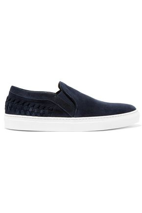 IRIS & INK Suede slip-on sneakers