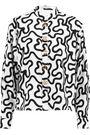 J.W.ANDERSON Printed crepe shirt