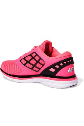 APL® ATHLETIC PROPULSION LABS Joyride mesh and faux leather sneakers