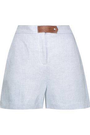 SANDRO Crepe shorts