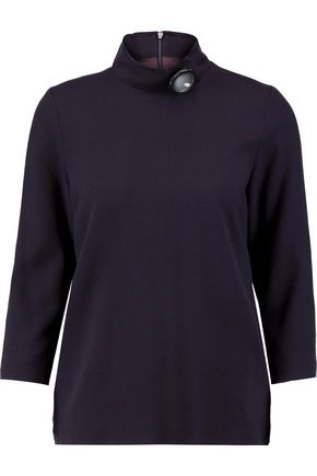 GOAT Embellished wool turtleneck top