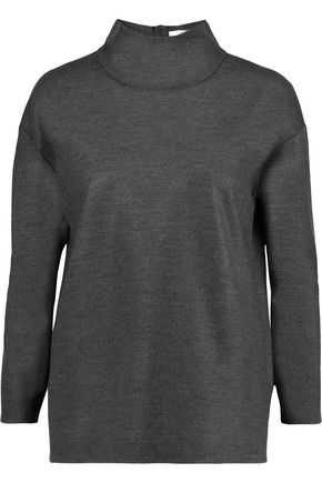 GOAT Wool-blend turtleneck top