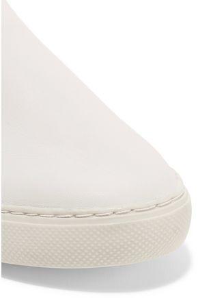 SCHUTZ Keela leather slip-on sneakers