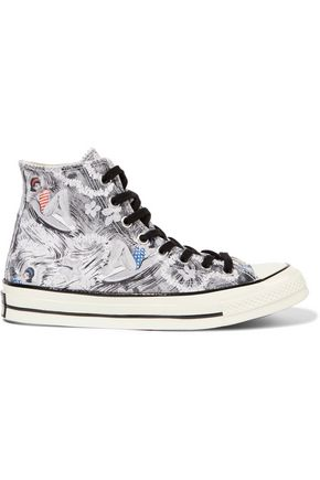 CONVERSE All Star Chuck 70s Hawaiian Print canvas sneakers
