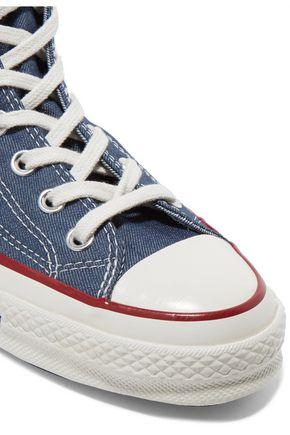 CONVERSE Denim high-top sneakers