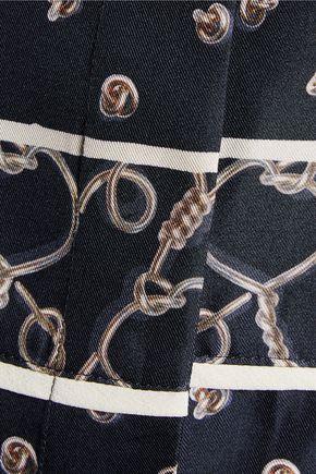 3.1 PHILLIP LIM Printed silk crepe de chine top