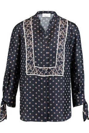 3.1 PHILLIP LIM Printed silk crepe de chine top