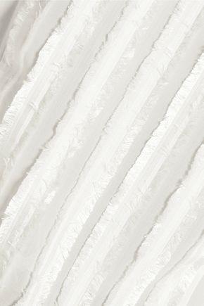 3.1 PHILLIP LIM Fil coupé silk-chiffon top