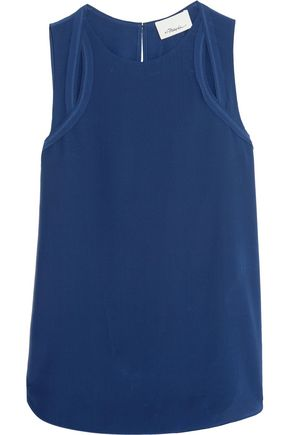 3.1 PHILLIP LIM Cutout silk crepe de chine top