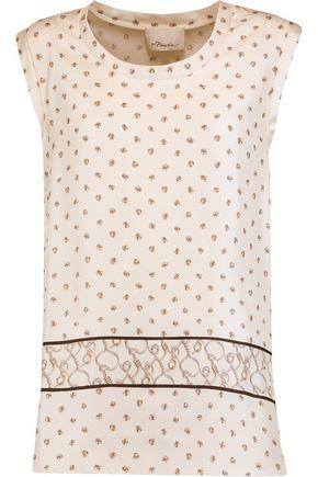 3.1 PHILLIP LIM Printed silk top