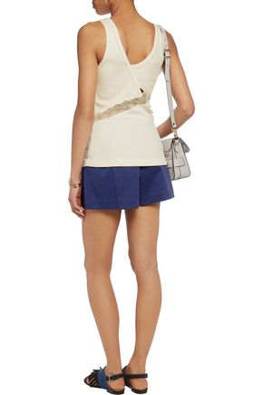 3.1 PHILLIP LIM Bloomer pleated cotton-blend twill shorts