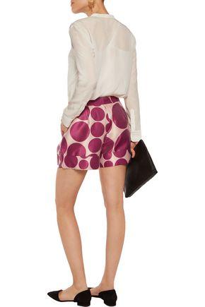 RAOUL Printed twill shorts