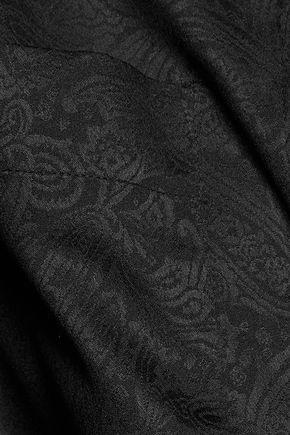 IRO Narker printed crepe de chine shirt