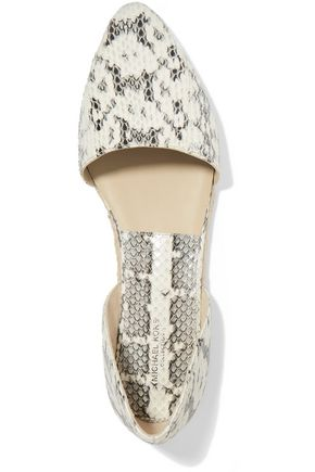 MICHAEL KORS COLLECTION Corey snake espadrilles