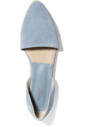 MICHAEL KORS COLLECTION Corey suede espadrilles