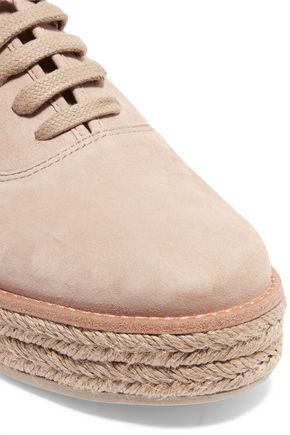 MICHAEL KORS COLLECTION Madison suede espadrilles