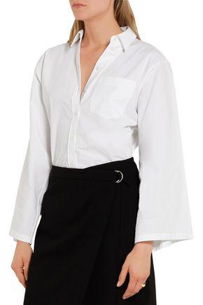 MICHAEL KORS COLLECTION Cotton-poplin shirt