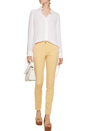 MICHAEL KORS COLLECTION Silk-crepe shirt