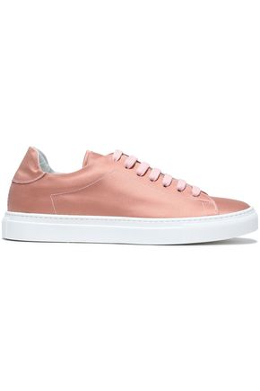 IRIS & INK Bree satin sneakers