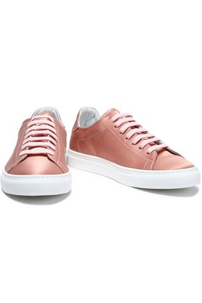 IRIS AND INK Bree satin sneakers