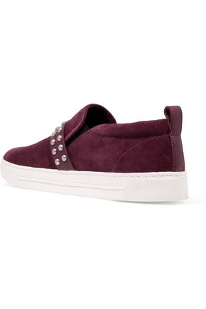 MARC BY MARC JACOBS Kenmare studded suede slip-on sneakers
