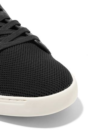 RAG & BONE Kent leather-trimmed mesh sneakers