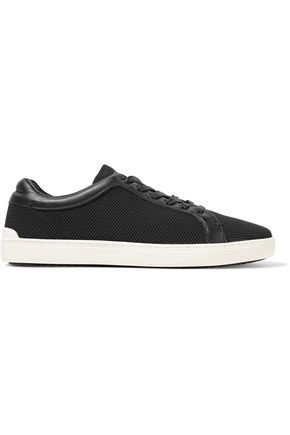 RAG & BONE Kent leather-trimmed mesh sneakers