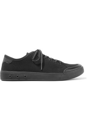 RAG & BONE Standard Issue leather-trimmed canvas sneakers