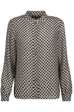 VANESSA SEWARD Bamboo printed wool shirt