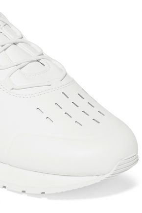 DKNY Jaxone perforated leather sneakers