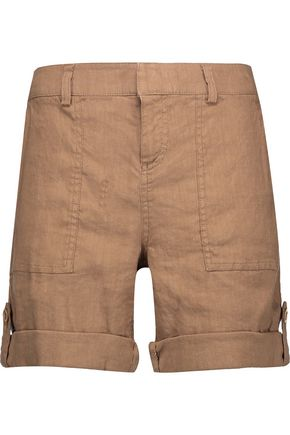 ALICE + OLIVIA Zahra linen-blend shorts